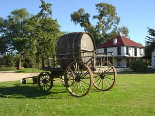 Juanico Vineyards Old Wagon